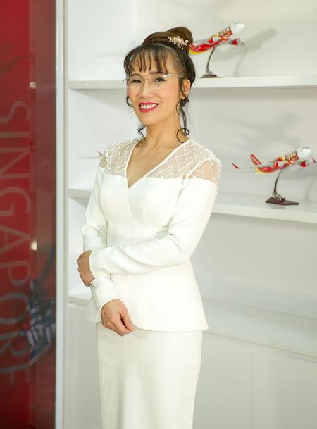 Bà Nguyễn Thị Phương Thảo - Tổng giám đốc Vietjet.