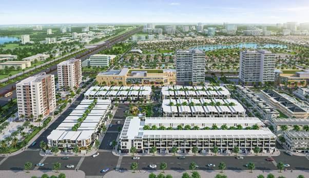 Phối cảnh khu đô thị lớn tại khu Đông Sài Gòn.