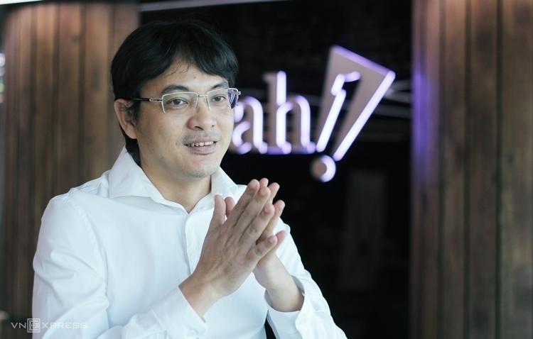 Ông Nguyễn Ảnh Nhượng Tống trong buổi phỏng vấn với VnExpress tháng 4/2019. Ảnh: Anh Nguyên.