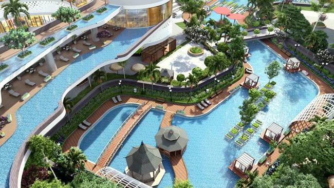 Sunshine Group công bố hai tòa tháp mô hình vườn treo Babylon