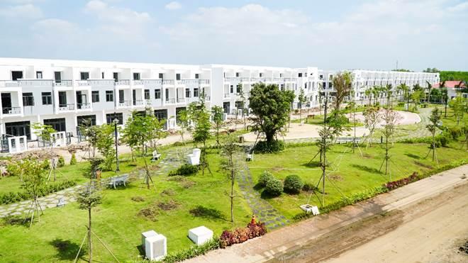Khu đô thị thông minh Viva Park mới hình thành ở Trảng Bom, Đồng Nai.