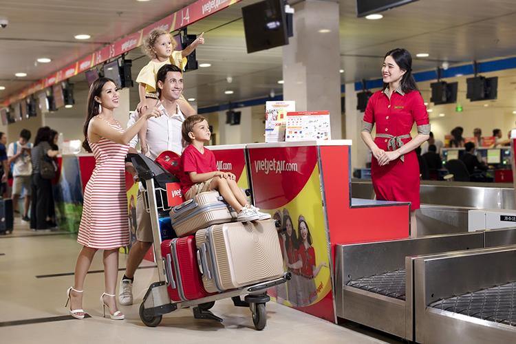 Với chương trình giảm 70% giá vé, Vietjet mong muốn