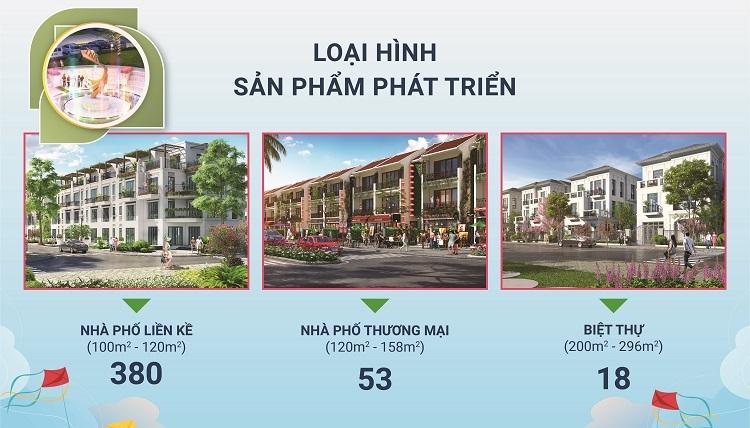 TNR Holdings Vietnam gi?i thi?u 3 lo?i hình s?n ph?m t?i d? án.