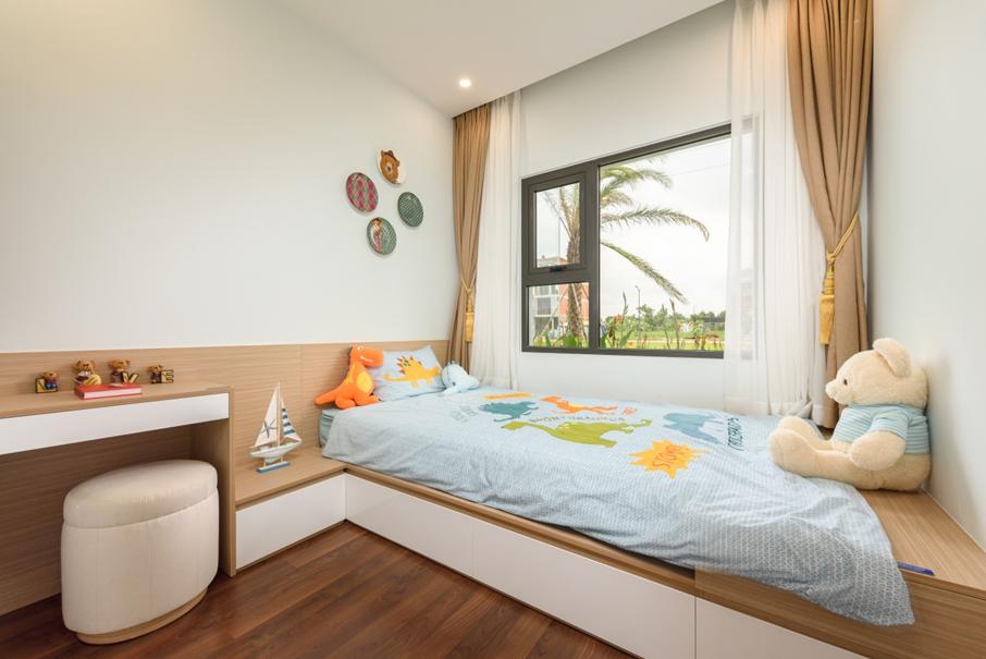 Căn hộ ba phòng ngủ giúp gia chủ dễ dàng bố trí không gian sinh hoạt chung, đồng thời đảm bảo đầy đủ phòng riêng cho các thế hệ.