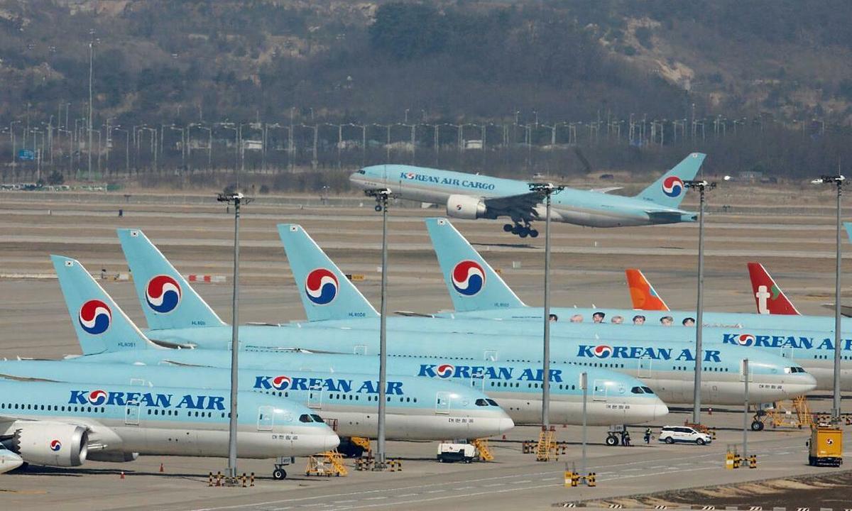 Các hãng hàng không đau đầu tìm chỗ đỗ máy bay