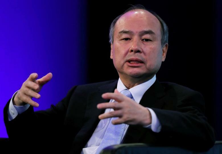 Ông chủ SoftBank Masayoshi Son. Ảnh: Reuters