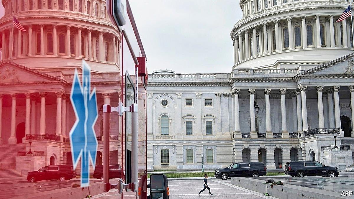Một góc trụ sở quốc hội Mỹ. Ảnh: AFP