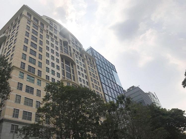 Tòa nhà Saigon Tower. Ảnh: VnReal