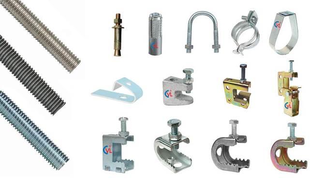 Các loại ty ren CVL và hệ treo sông thi công cơ điện (M.E.P), PCCC và HVAC.