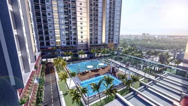 EcoXuân Sky Residences Smart Homes được xây dựng trên khuôn viên 10,8ha, với mật độ xây dựng chỉ chiếm 39,08% trên toàn bộ khu đất.