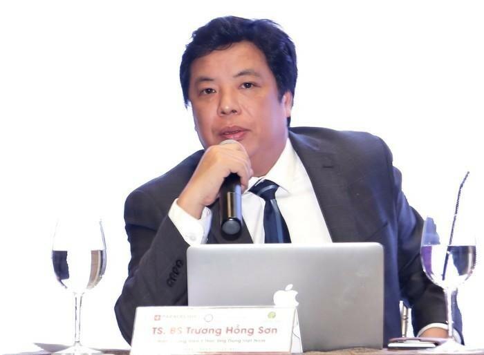 TS.BS. Trương Hồng Sơn - Phó Tổng thư ký Tổng hội Y học Việt Nam, Viện trưởng Viện Y học ứng dụng Việt Nam