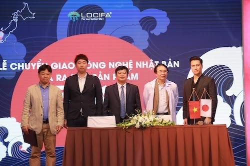 Đại diện Zawa tại lễ ra mắt sản phẩm tại Việt Nam.