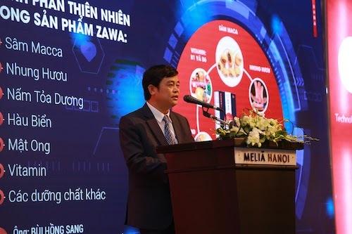 Ông Bùi Hồng Sang, Đại diện nhãn hàng Zawa Việt Nam