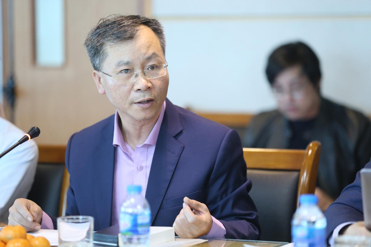 Chuyên gia kinh tế Vũ Đình Ánh.