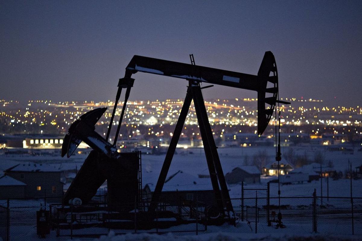 Một mỏ khai thác của Whiting tại khu vực Bắc Dakota. Ảnh: Bloomberg