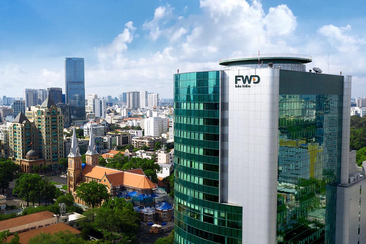 Trụ sở Công ty Bảo hiểm Nhân thọ FWD Việt Nam.