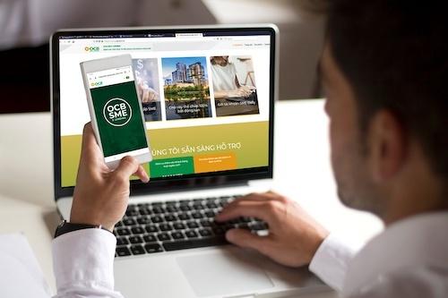 Doanh nghiệp tiếp cận vay vốn trực tuyến từ OCB SME E-Lending