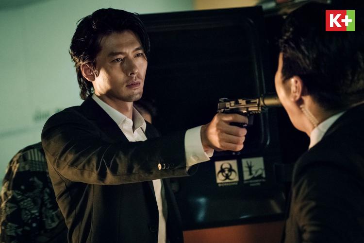 Diễn viên Hyun Bin (trái) trong phim gì phát sóng trên K+