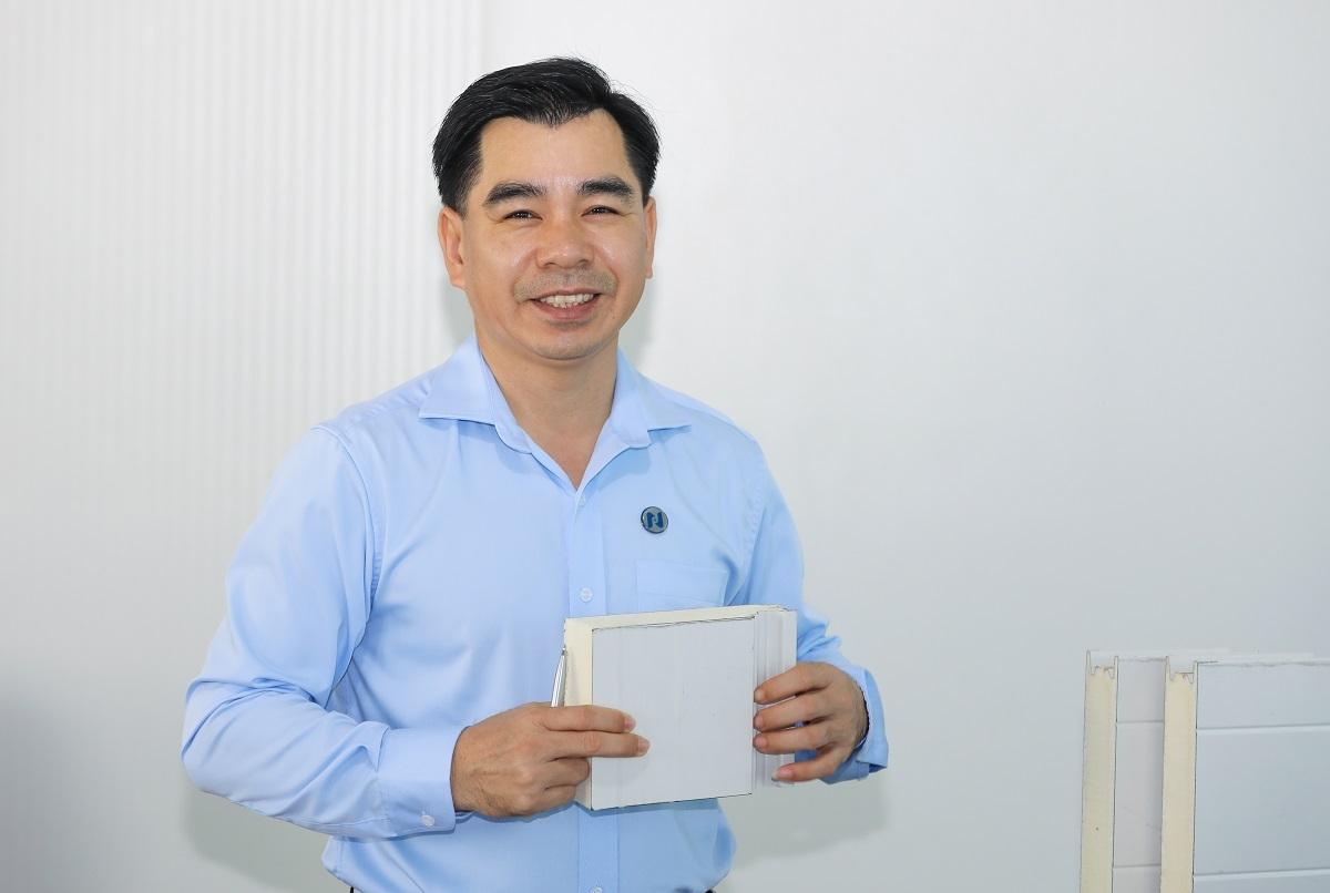 Ông Giáp Văn Thanh - Tổng giám đốc Công ty TNHH Cách âm Cách nhiệt Phương Nam.