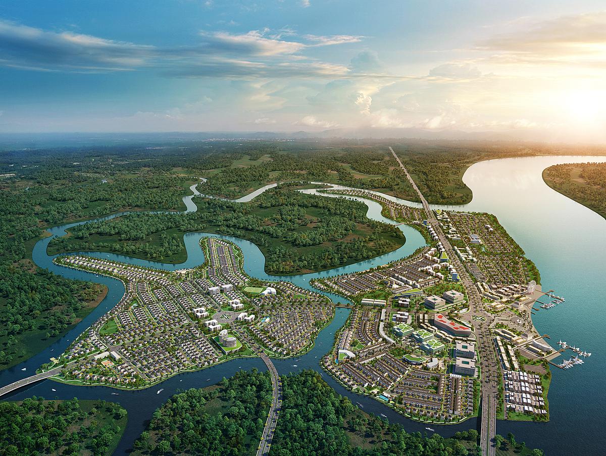 Mô hình đô thị sinh thái tất cả trong một là xu hướng phổ biến trên thế giới nhiều thập kỷ nay và trở thành chiến lược phát triển của một số thành phố lớn. Với quy mô hàng trăm hecta, quy hoạch bài bản và đồng bộ ngay từ khi còn là ý tưởng, các dự án đô thị sinh thái kiến tạo không gian sống đủ đầy cho cư dân. Gần như mọi nhu cầu an cư, tận hưởng cuộc sống của các gia đình đa thế hệ đều có thể được đáp ứng, đồng thời còn là khu vực bảo tồn cảnh quan sinh thái kiểu mẫu. Tại Aqua City do Novaland triển khai kề cận TP HCM, dự án kiến tạo không gian sống như nghỉ dưỡng cho cư dân, đồng thời phải trở thành điểm đến quen thuộc cho người dân xung quanh trong tương lai, từ đó hình thành một cộng đồng hiện đại, văn minh.