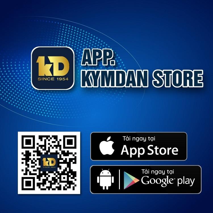 Sử dụng app Kymdan Store mua hàng giúp giảm thiểu rủi ro thanh toán bằng tiền mặt, tiết kiệm thời gian, nhận hàng ngay tại nhà.