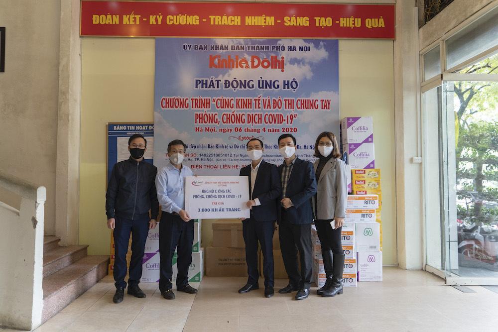 CityLand ủng hộ 3.000 khẩu trang ủng hộ công tác phòng chống dịch bệnh