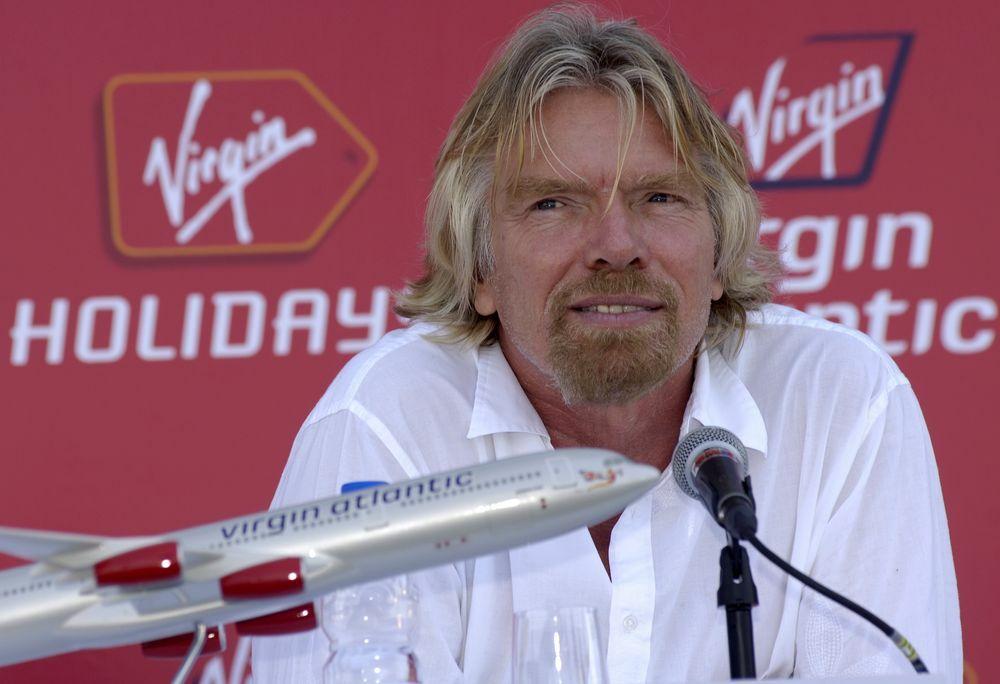 Tỷ phú sáng lập Virgin Group Richard Branson. Ảnh: Bloomberg