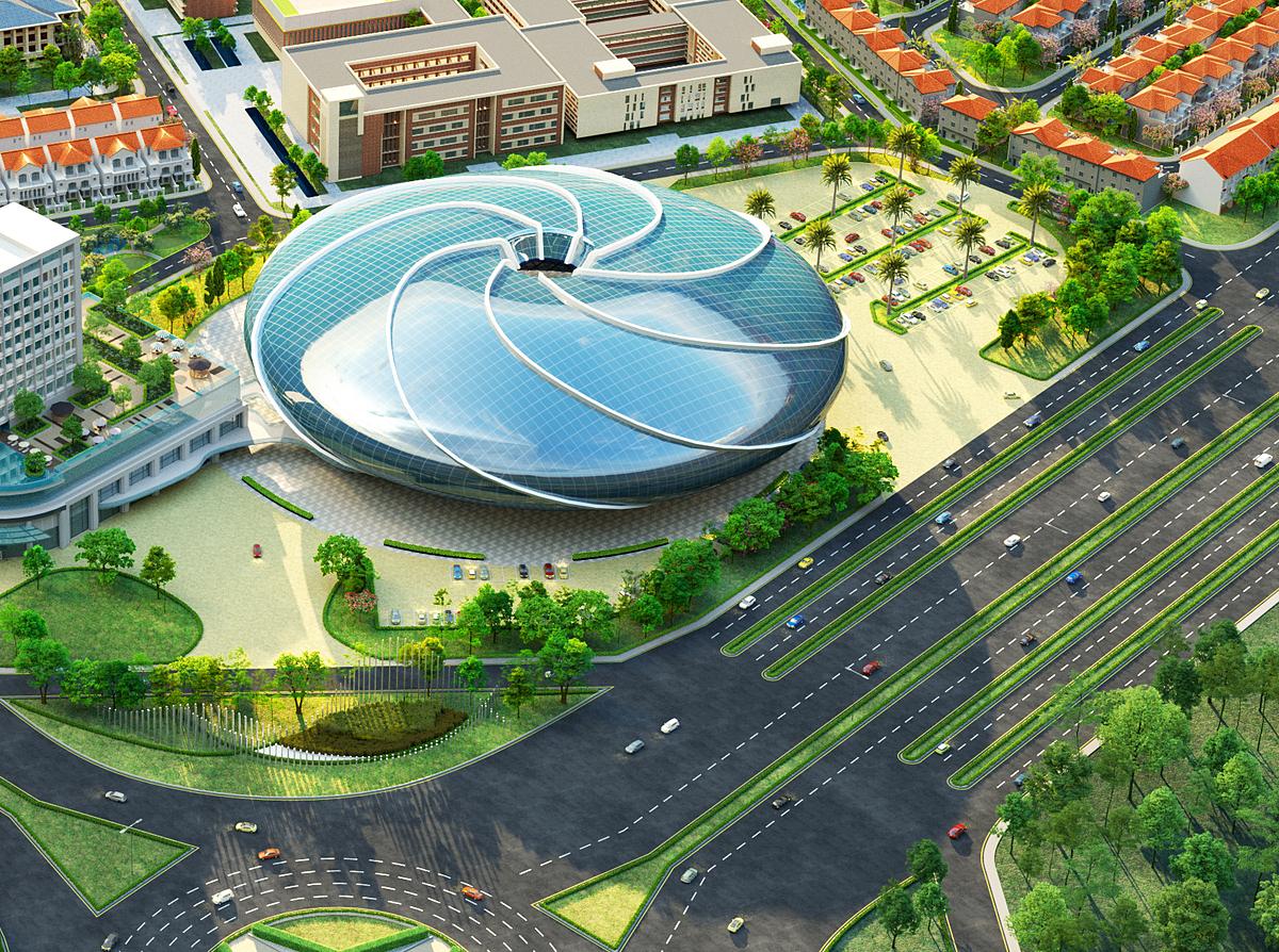 Một trong những hạng mục tiện ích nổi bật là trung tâm phức hợp giải trí đa năng trong nhà Aqua Arena. Tọa lạc trên diện tích hơn 4,6 ha, sức chứa lên đến 11.000 chỗ ngồi, Aqua Arena hứa hẹn là không gian dành cho các sự kiện âm nhạc, thời trang, giải trí mang tầm quốc tế, không chỉ bởi trang thiết bị hiện đại với sức chứa lớn, mà còn bởi vị trí thuận tiện, gần sân bay quốc tế Long Thành.