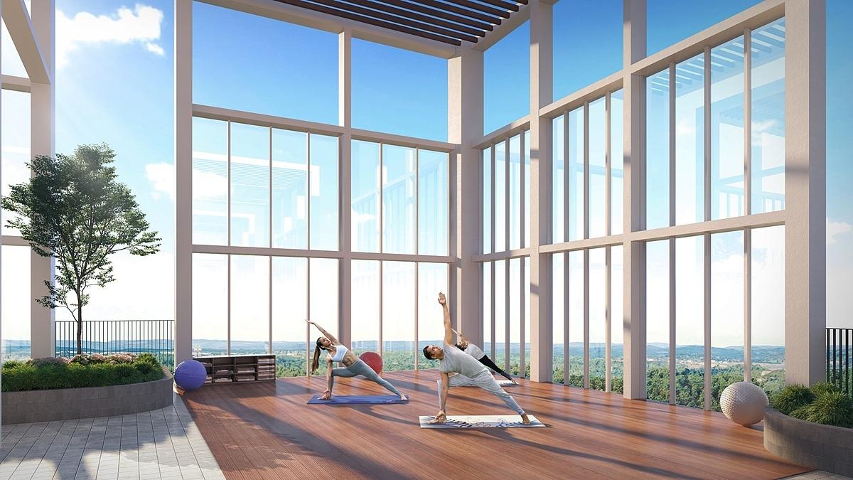 Dự án căn hộ chất lượng cao sở hữu tiện ích ấn tượng nhất trong khu vực với vườn trên mái thời thượng.