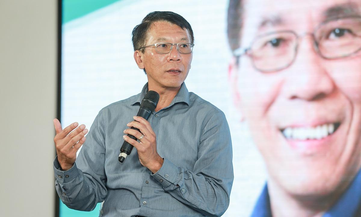 Ông Thuận Phạm tại buổi trò chuyện ngày 25/7/2017 tại TP HCM. Ảnh: Uber
