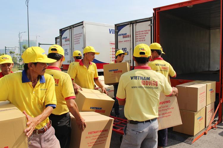 Đội ngũ nhân viên Vietnam Moving.