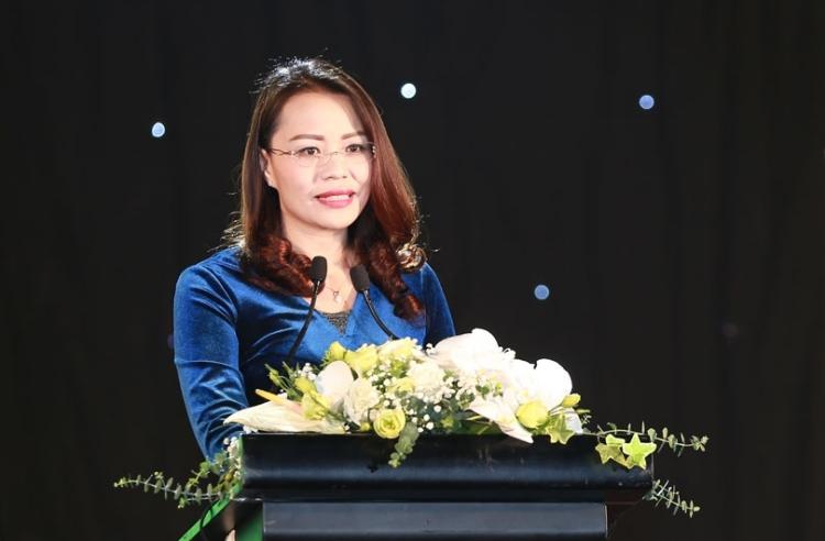 Bà Hương Trần Kiều Dung. Ảnh: Website FLC.
