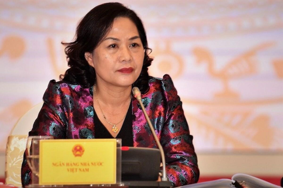 Bà Nguyễn Thị Hồng - Phó thống đốc Ngân hàng Nhà nước. Ảnh: VGP