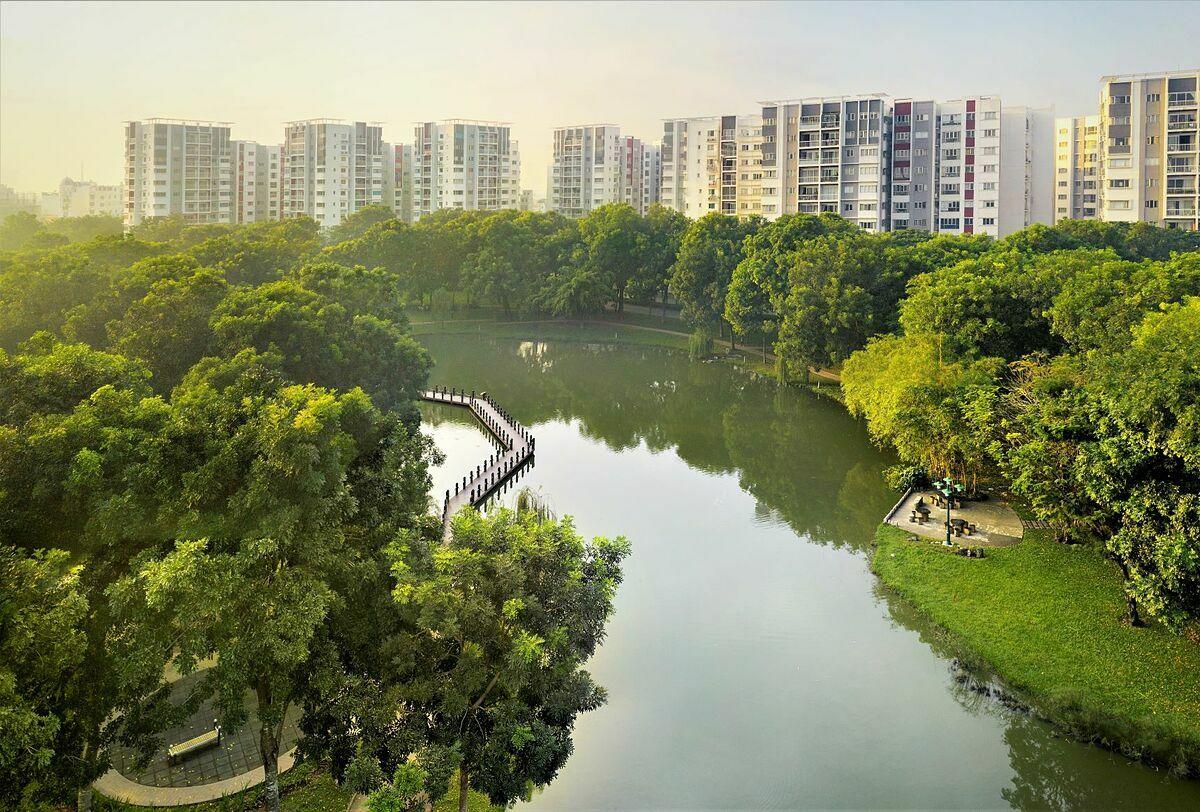 Với 170 loài cây cùng hàng chục loài động vật, mảng xanh tại Celadon City được xem như một khu rừng thu nhỏ.
