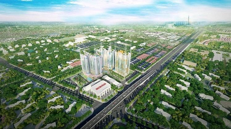 Dự án khu phức hợp căn hộ cao cấpCharm City.