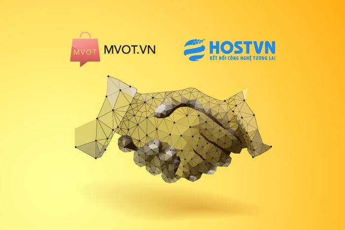 MVOT và HostVN ký kết hợp tác phát triển thương mại điện tử.
