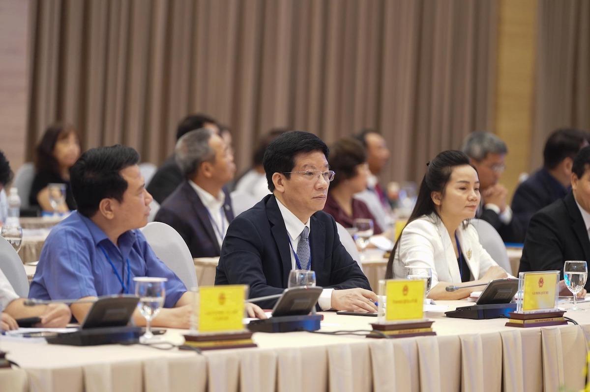 Các doanh nghiệp tham gia Hội nghị Thủ tướng và doanh nghiệp ngày 9/5. Ảnh: Quang Hiếu