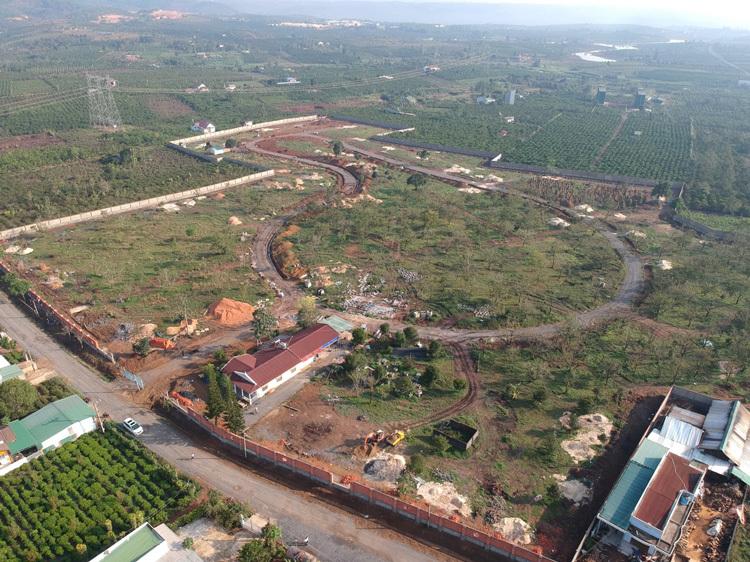 Tiến độ dự án khu biệt thự sinh thái Evergreen Club (TP Bảo Lộc, Lâm Đồng) đến tháng 3/2020.