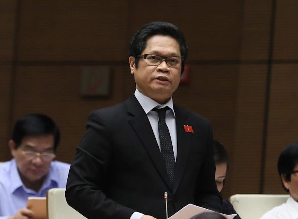 Ông Vũ Tiến Lộc - Chủ tịch Phòng Thương mại & Công nghiệp Việt Nam (VCCI), đại biểu tỉnh Thái Bình. Ảnh: Trần Giang