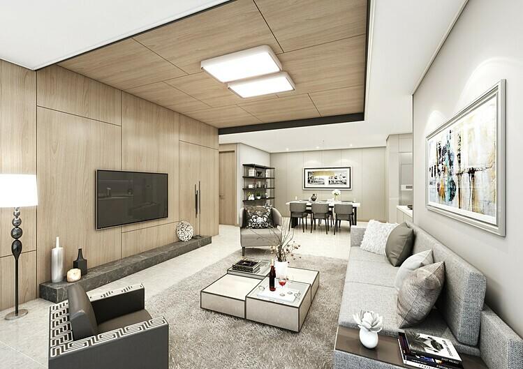 Các căn hộ 2-4 phòng ngủ tại dự án Starlake được thiết kế theo phong cách LDK (liên thông phòng bếp -phòng ăn - phòng khách) tạo cảm giác rộng rãi.