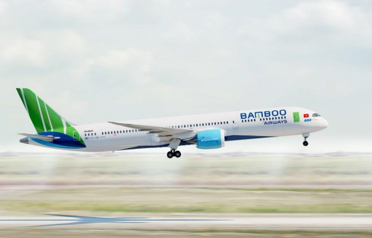Boeing Dreamliner 787-9 của Bamboo Airways.