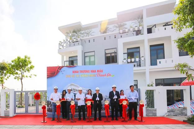 Dự án đã khai trương và đưa vào vận hành nhà mẫu đón khách tham quan ngay tại dự án.