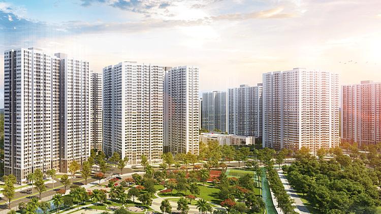 Phối cảnh dự án Vinhomes Smart City.