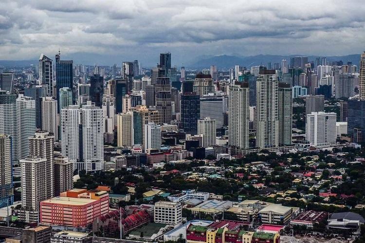 Vùng đô thị Manila, Phillipines. Ảnh: Alecs Ongcal.