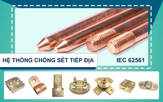6 lý do chọn cọc tiếp địa thép mạ đồng CVL tại nhiều công trình ở Việt nam