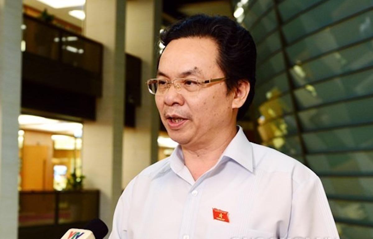 Ông Hoàng Văn Cường - đại biểu thành phố Hà Nội. Ảnh: Trung tâm báo chí Quốc hội