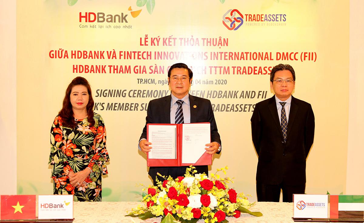 [HDBank là ngân hàng Việt Nam đầu tiên tham gia sàn giao dịch tài trợ thương mại TradeAsset.