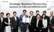 Startup Việt bắt tay LG CNS phát triển blockchain