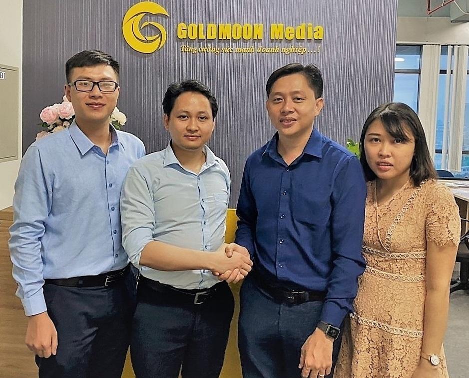 Đại diện Shojiki và Goldmoon Media tại buổi ký hợp tác chiến lược.