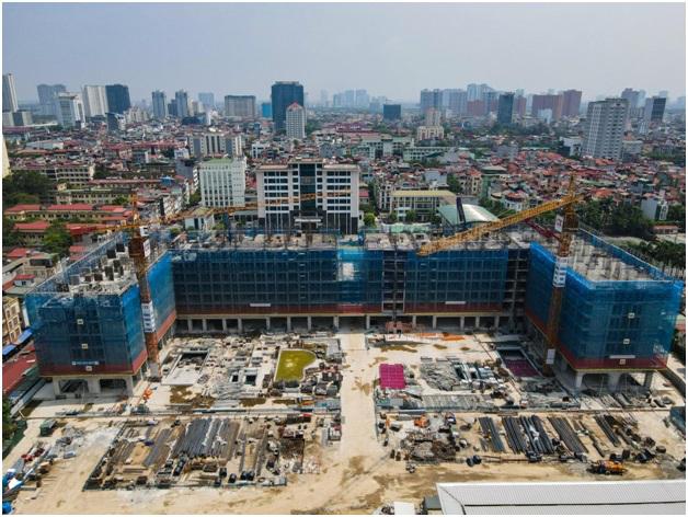 Dự án Mipec Rubik360 đảm bảo tiến độ xây dựng - VnExpress Kinh doanh